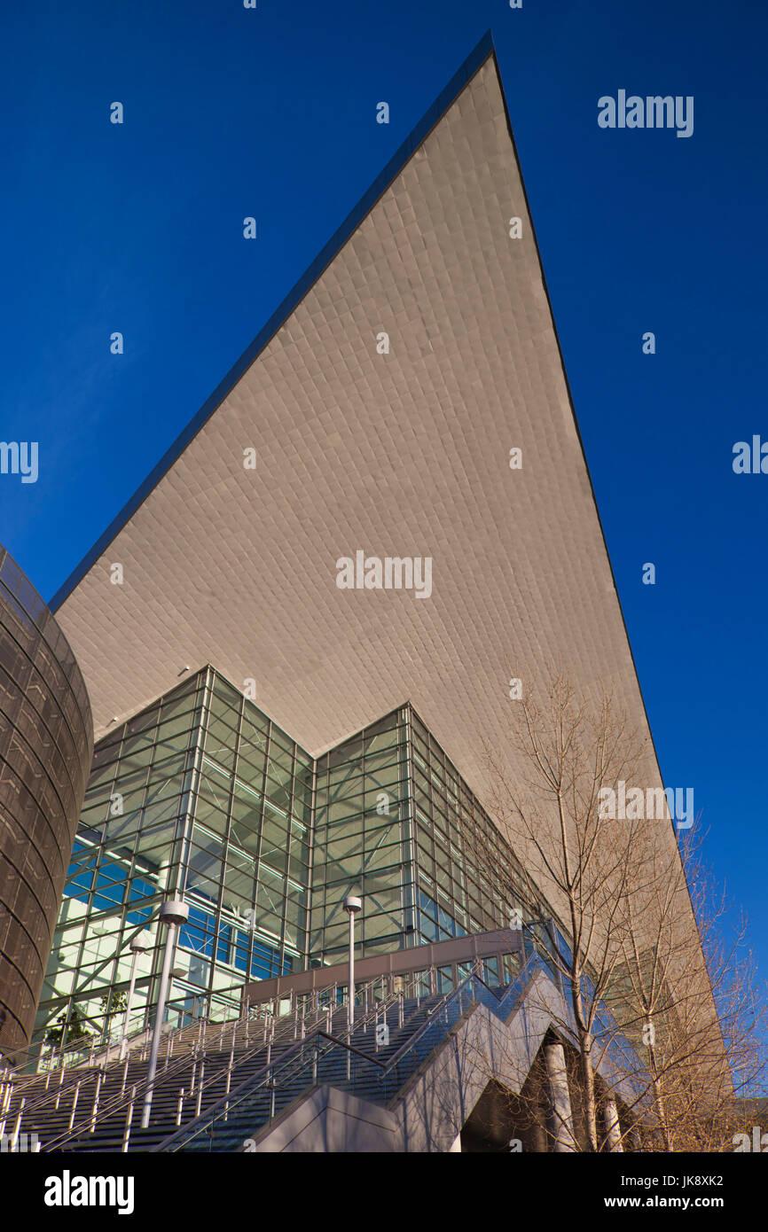 USA, Colorado, Denver, Colorado Convention Center, exterior - Stock Image