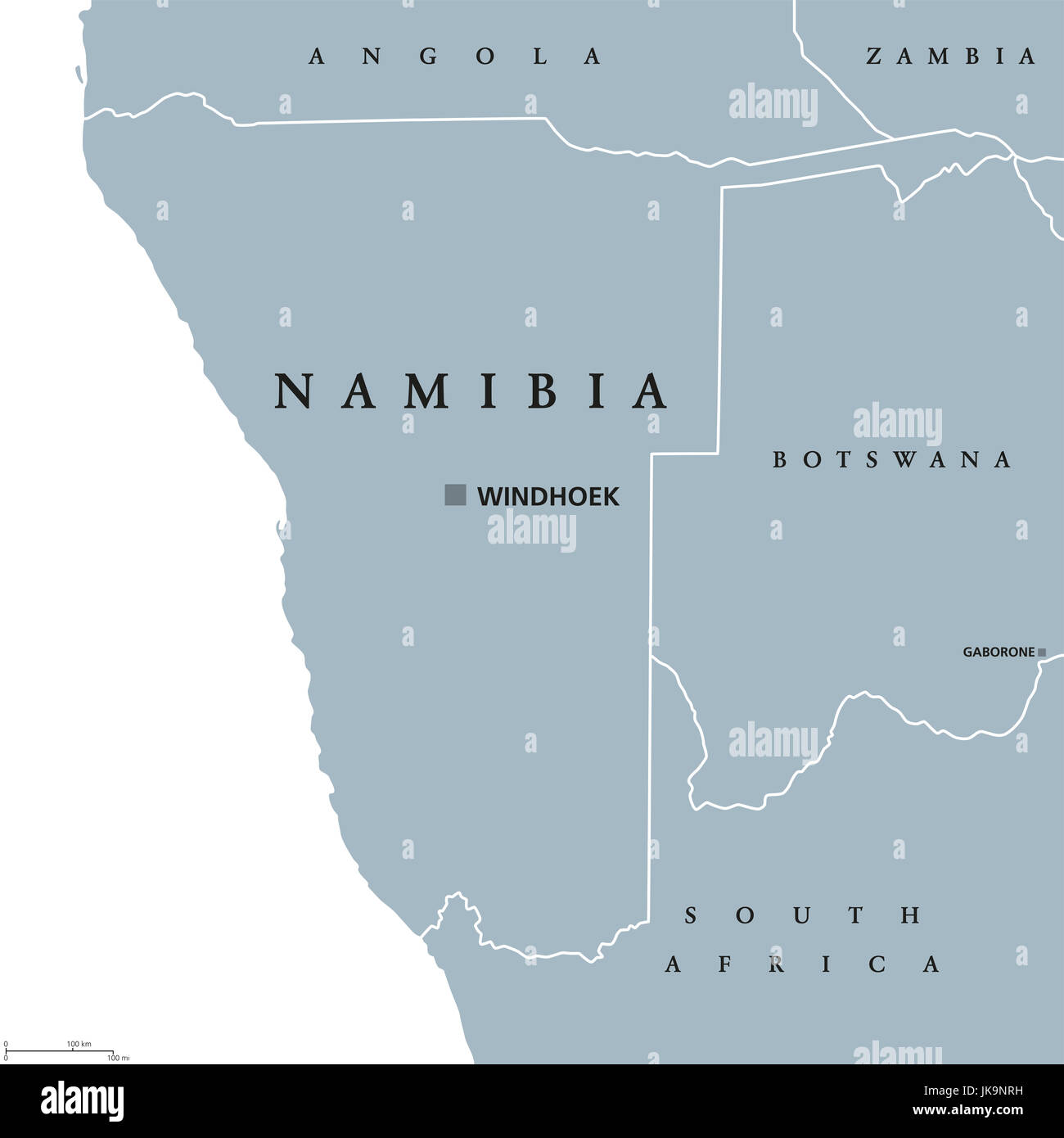 Namibia political map with capital windhoek republic and country in namibia political map with capital windhoek republic and country in southern africa on atlantic ocean former german south west africa illustration ccuart Gallery