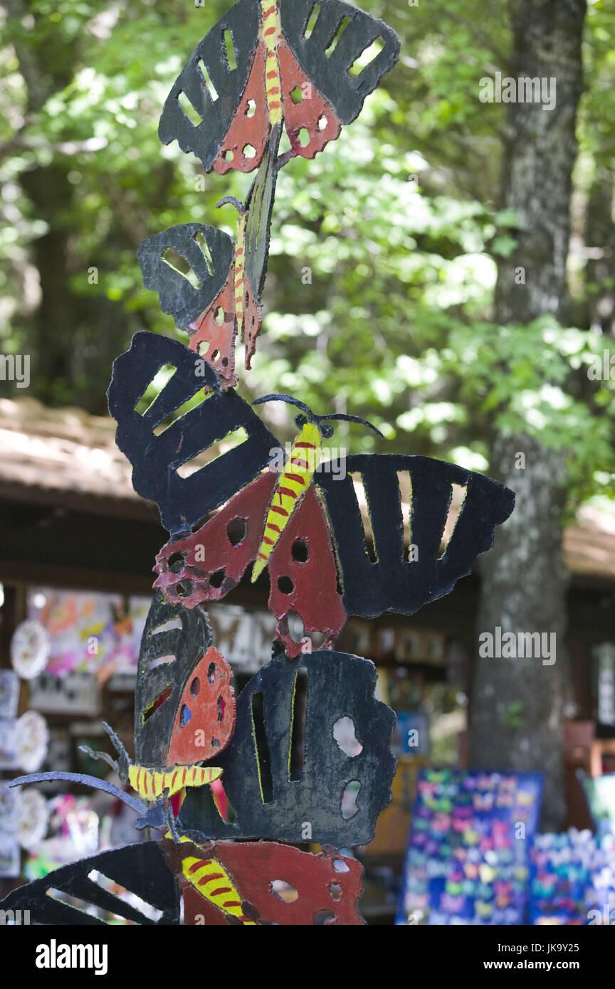Griechenland, Rhodos, Petaloudes, Souvenirverkauf, Schmetterlinge, - Stock Image