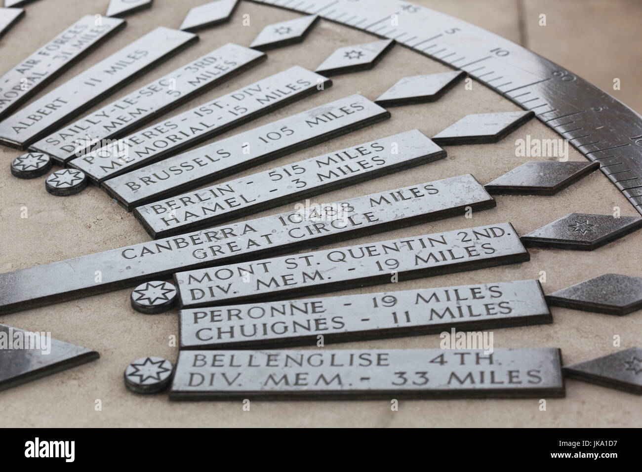 France Picardy Region Somme Department Somme Battlefields Stock Photo Alamy