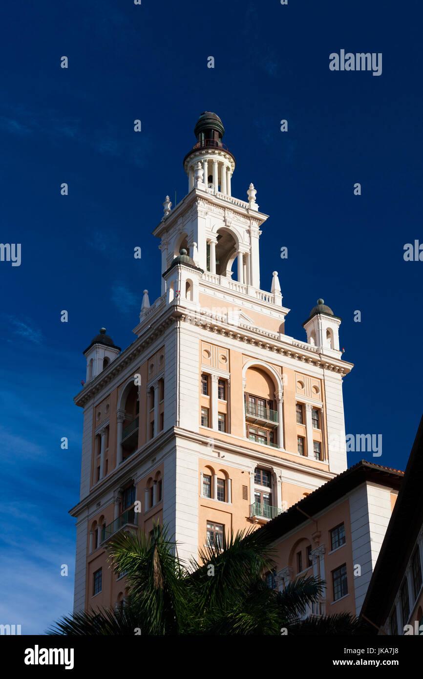 USA, Florida, Coral Gables, The Biltmore Hotel - Stock Image