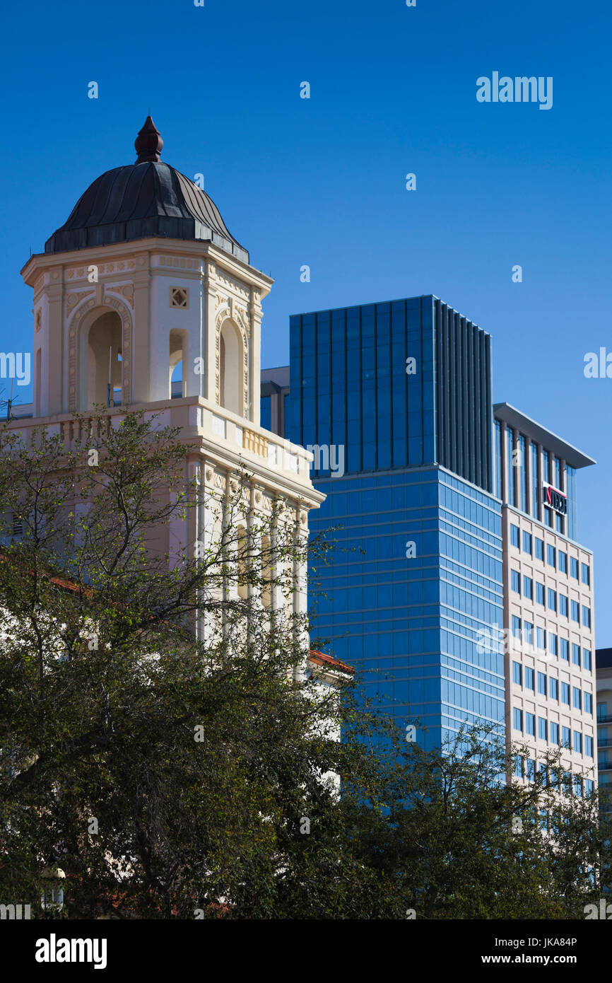 USA, Florida, West Palm Beach, City Place Mall, Harriet Himmel Theater, detail - Stock Image