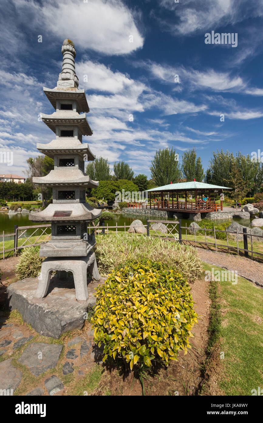 Chile, La Serena, Parque Japones Kokoro No Niwa, Japanese park - Stock Image