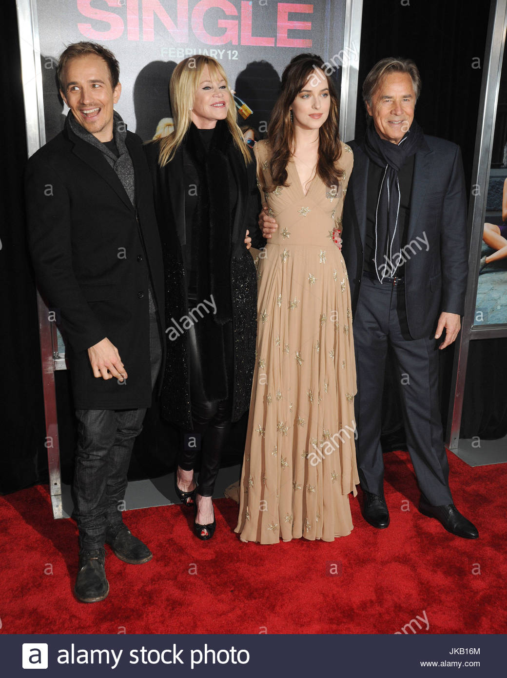 Jesse johnson melanie griffith dakota johnson and don johnson actress dakota johnson arrives on the red carpet with her parents and half brother at the world premiere of her new film how to be single ccuart Image collections