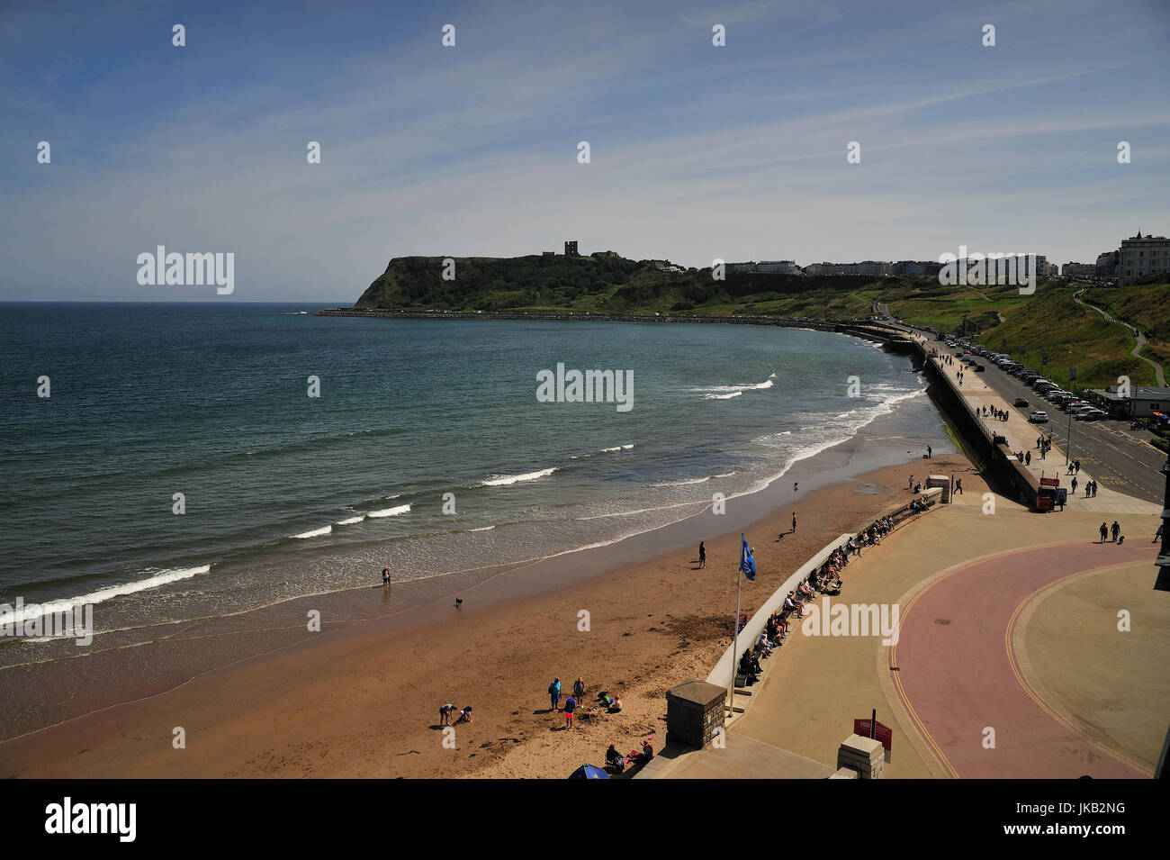 Scarborough North Bay Beach England - Stock Image