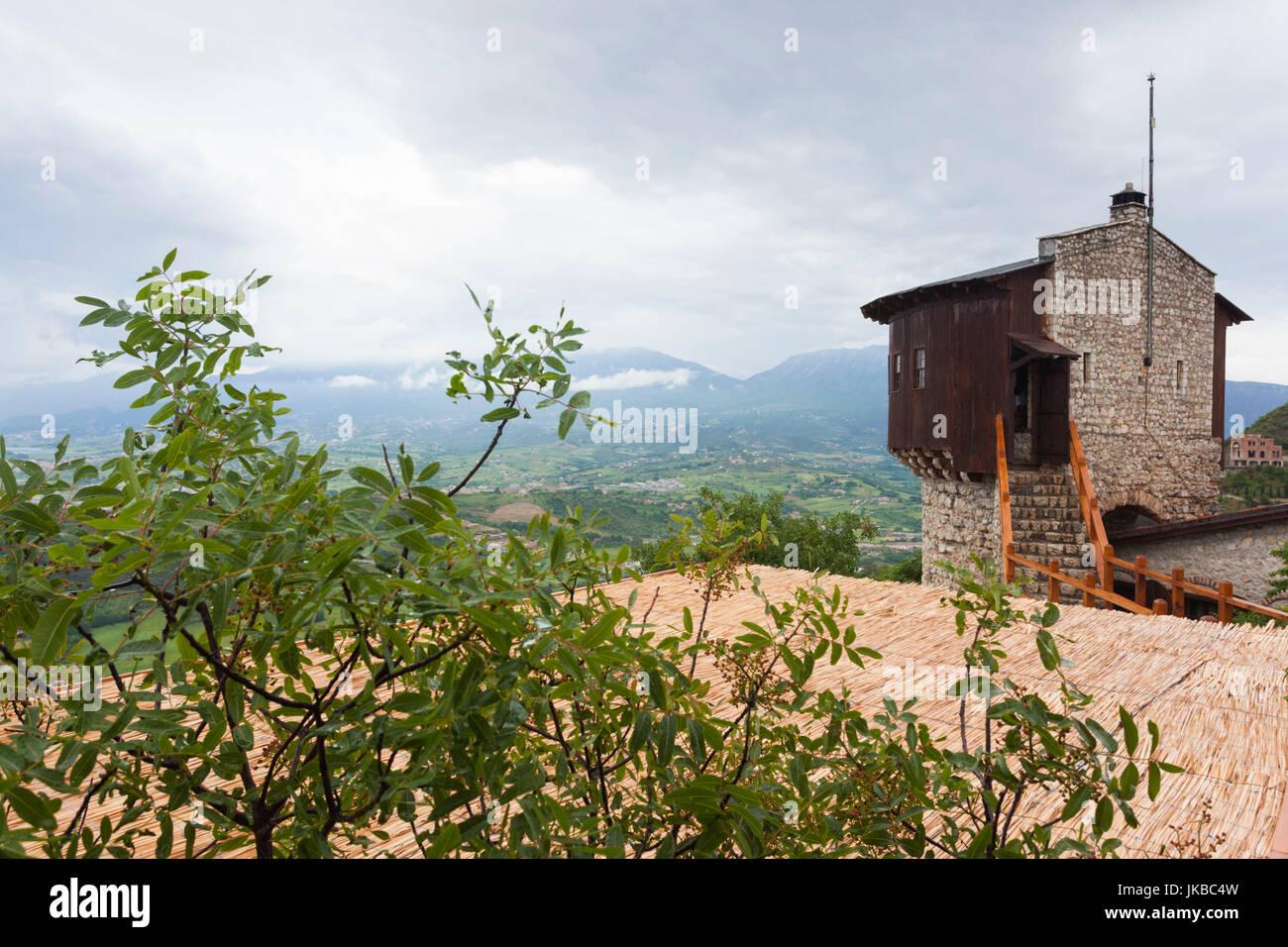 Albania, Tirana-area, Petrela Castle - Stock Image