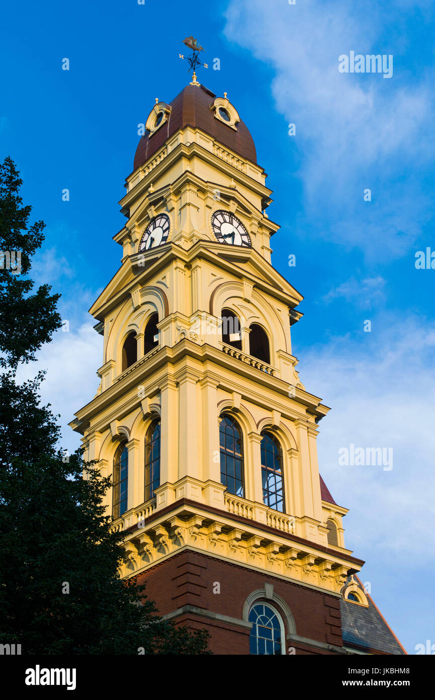 USA, Massachusetts, Gloucester, Gloucester City Hall - Stock Image