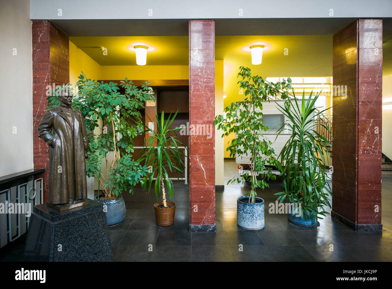 Germany, Berlin, Friendrichshain, Stasi Museum, DDR-era secret police museum in former secret police headquarters, - Stock Image