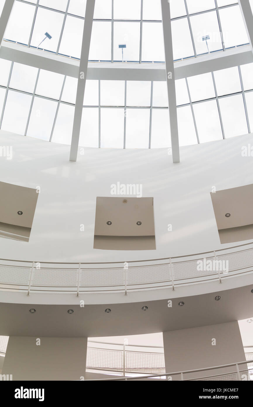 USA, Georgia, Atlanta, The High Museum of Art, atrium of the new wing designed by Renzo Piano - Stock Image