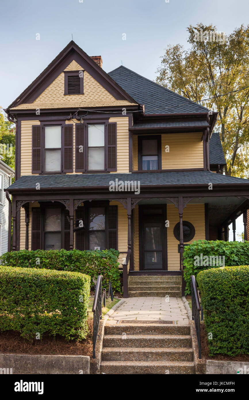 USA, Georgia, Atlanta, Martin Luther King National Historic Site, birthplace of Rev. Martin Luther King, King family - Stock Image