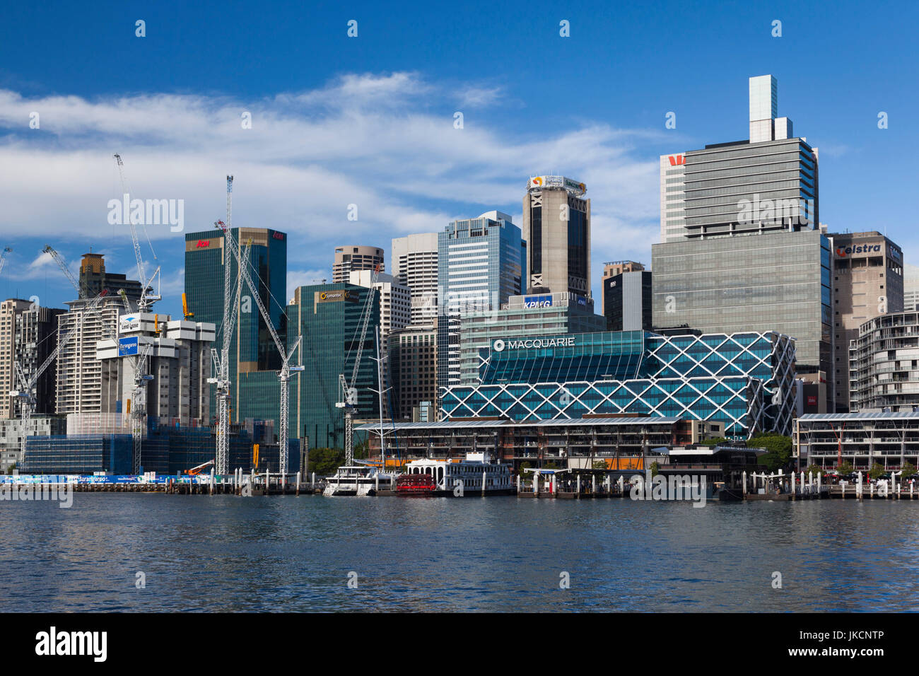 Australia, New South Wales, NSW, Sydney, Darling Harbour - Stock Image