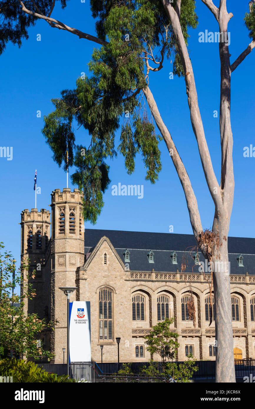 Australia, South Australia, Adelaide, University of Adeliade buidlings - Stock Image
