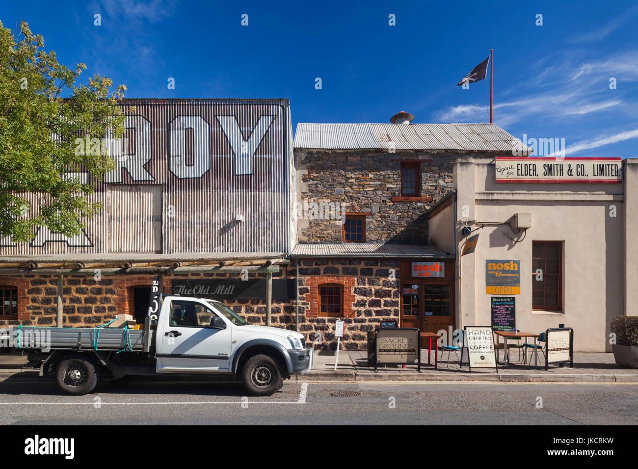 Australia, South Australia, Barossa Valley, Tanunda, Nosh Cafe, exterior - Stock Image