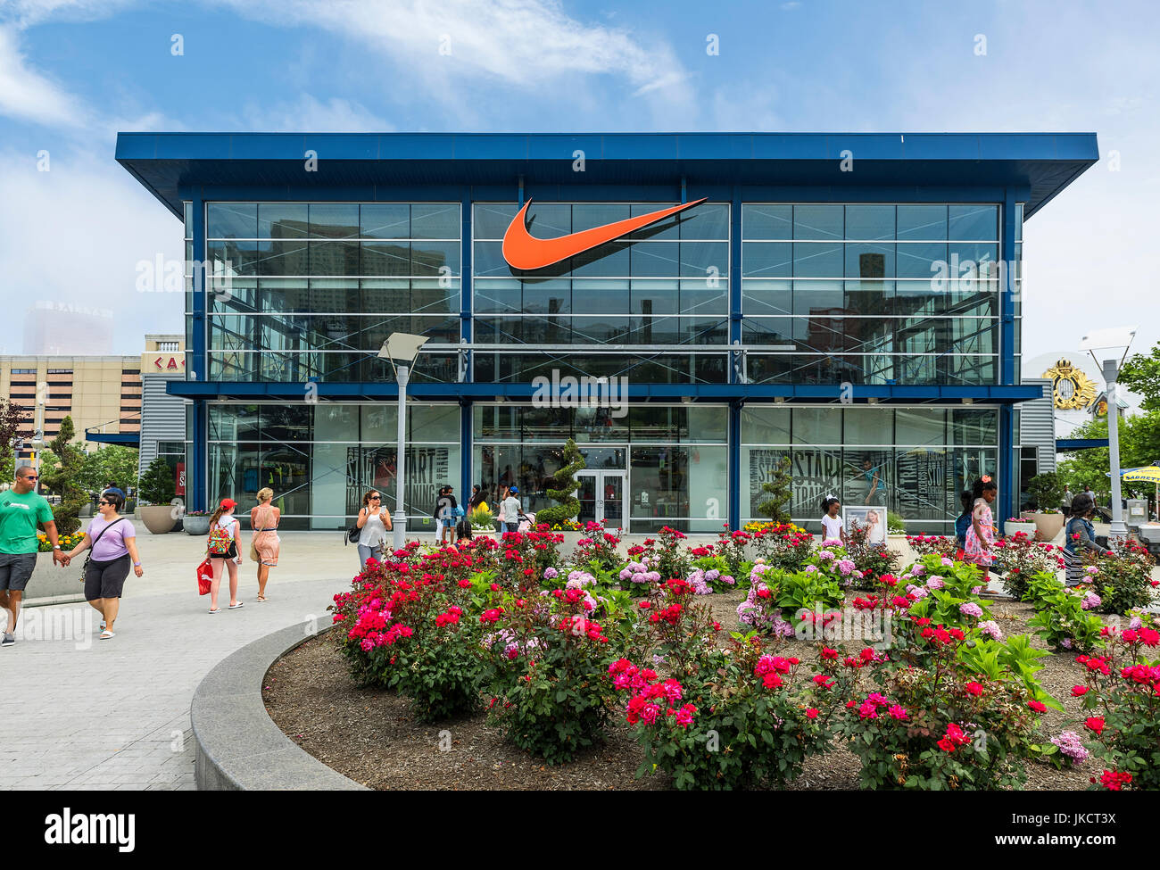 Nike Factory High Resolution Stock