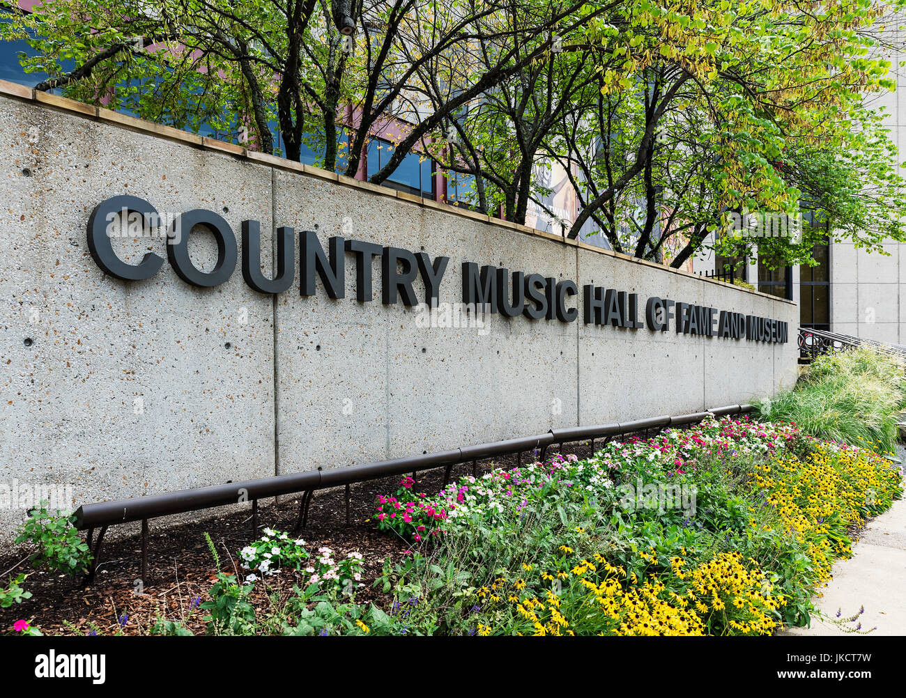 Exterior of the Country Music Hall of Fame, Nashville, Tennessee, USA. - Stock Image