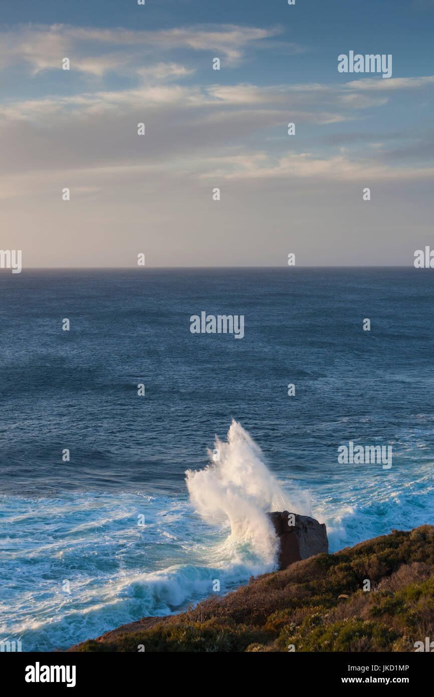 Australia, Western Australia, The Southwest, Prevelly, Surfers Point, dusk Stock Photo