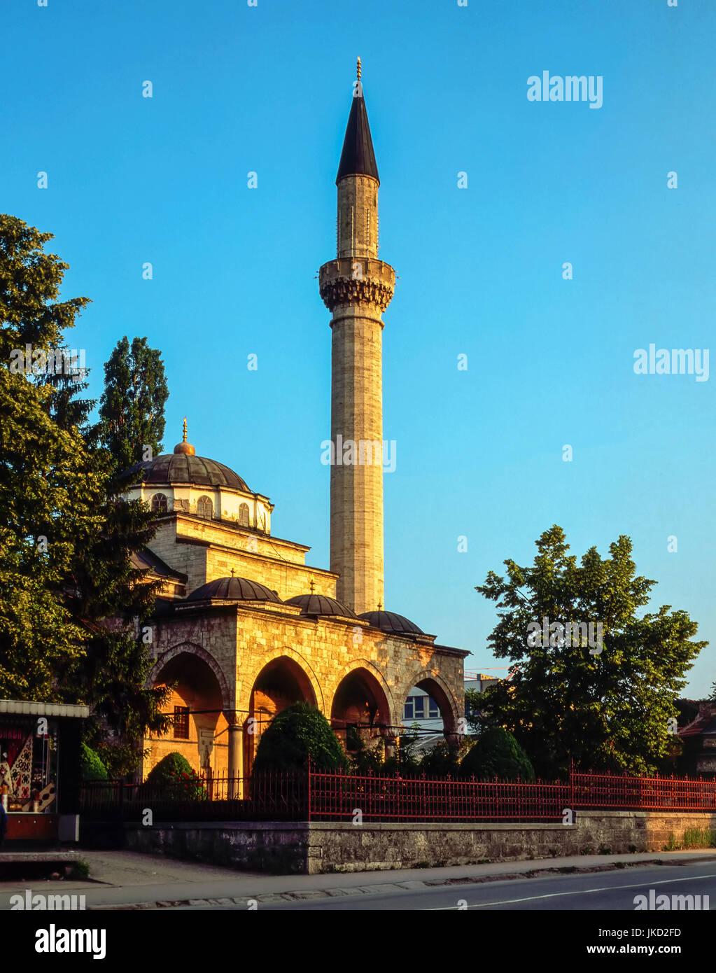 Mosque in Banja Luka, Bosnia-Herzegovina - Stock Image