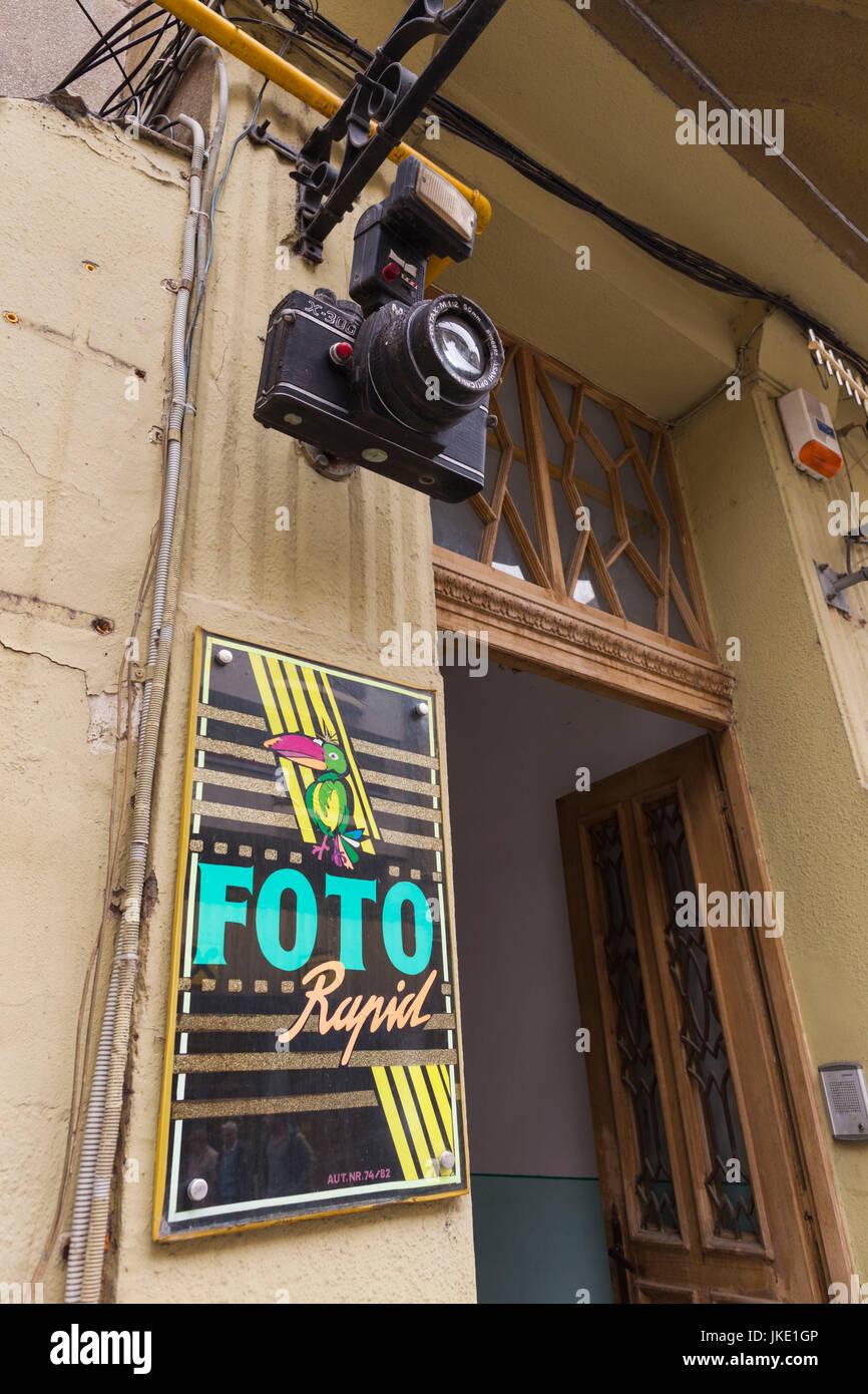 Romania, Crisana Region, Oradea, photoshop exterior - Stock Image