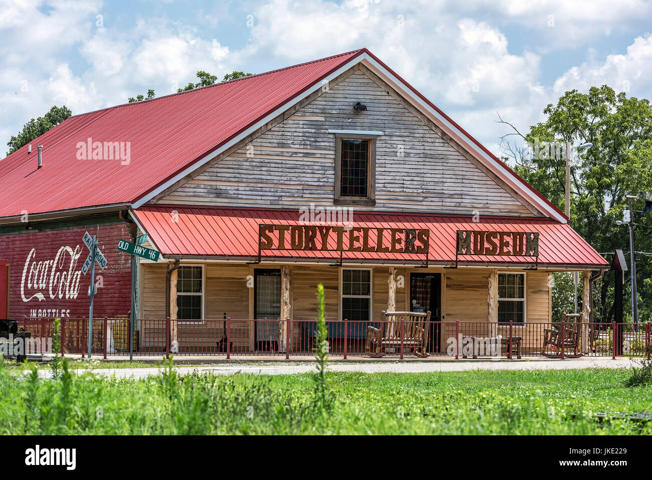 The Storytellers Museum, Bon Aqua, Tennessee, USA. - Stock Image