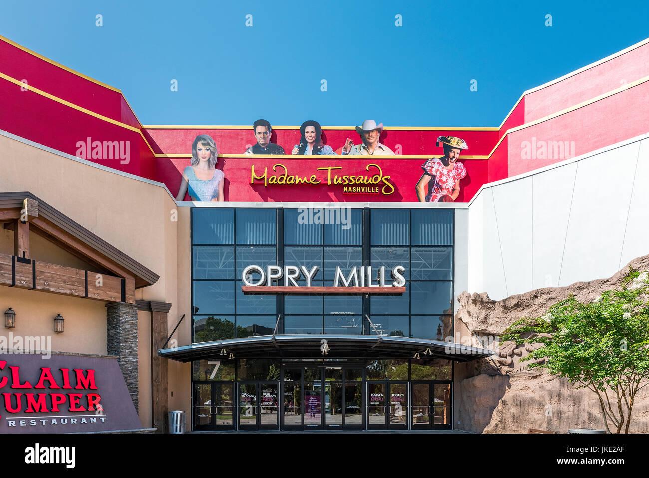 Opry Mills Mall, Nashville, Tennessee, USA. - Stock Image
