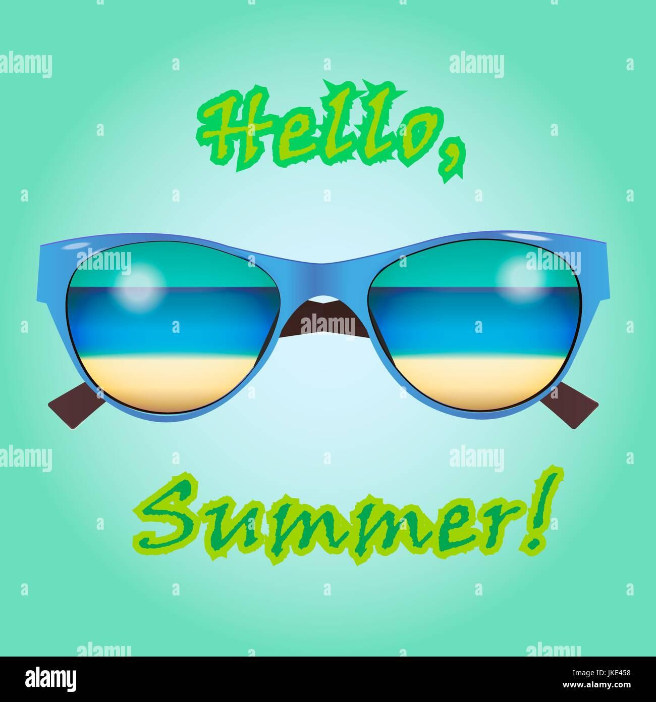 0912fa79061c Sunglasses Shop Stock Vector Images - Alamy