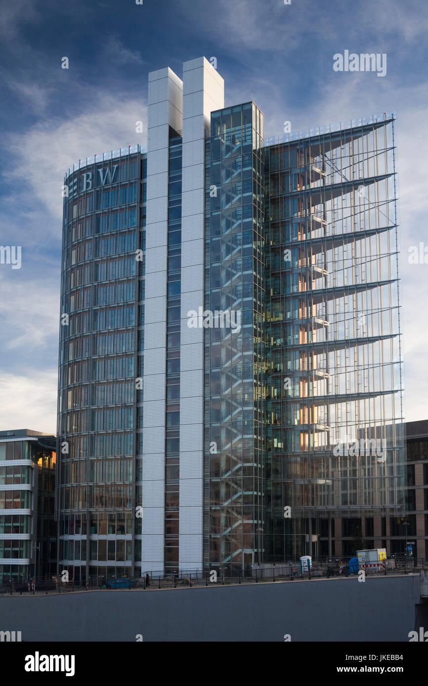 Germany, Baden-Wuerttemberg, Stuttgart, Mailaender Platz, LB-BW building - Stock Image