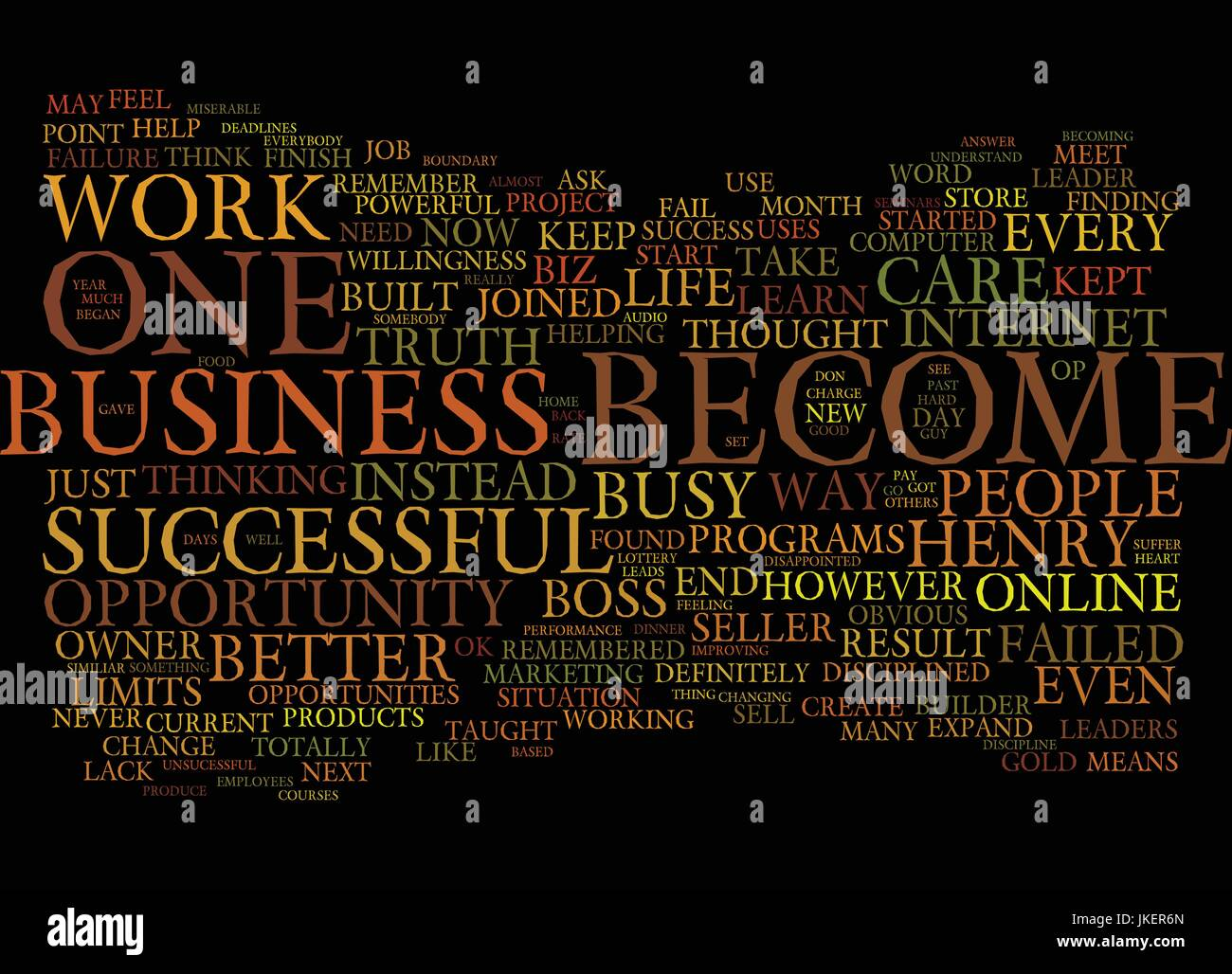 ARE YOU THE BOSS OR THE EMPLOYEE OF YOUR BUSINESS Text Background Word Cloud Concept - Stock Vector