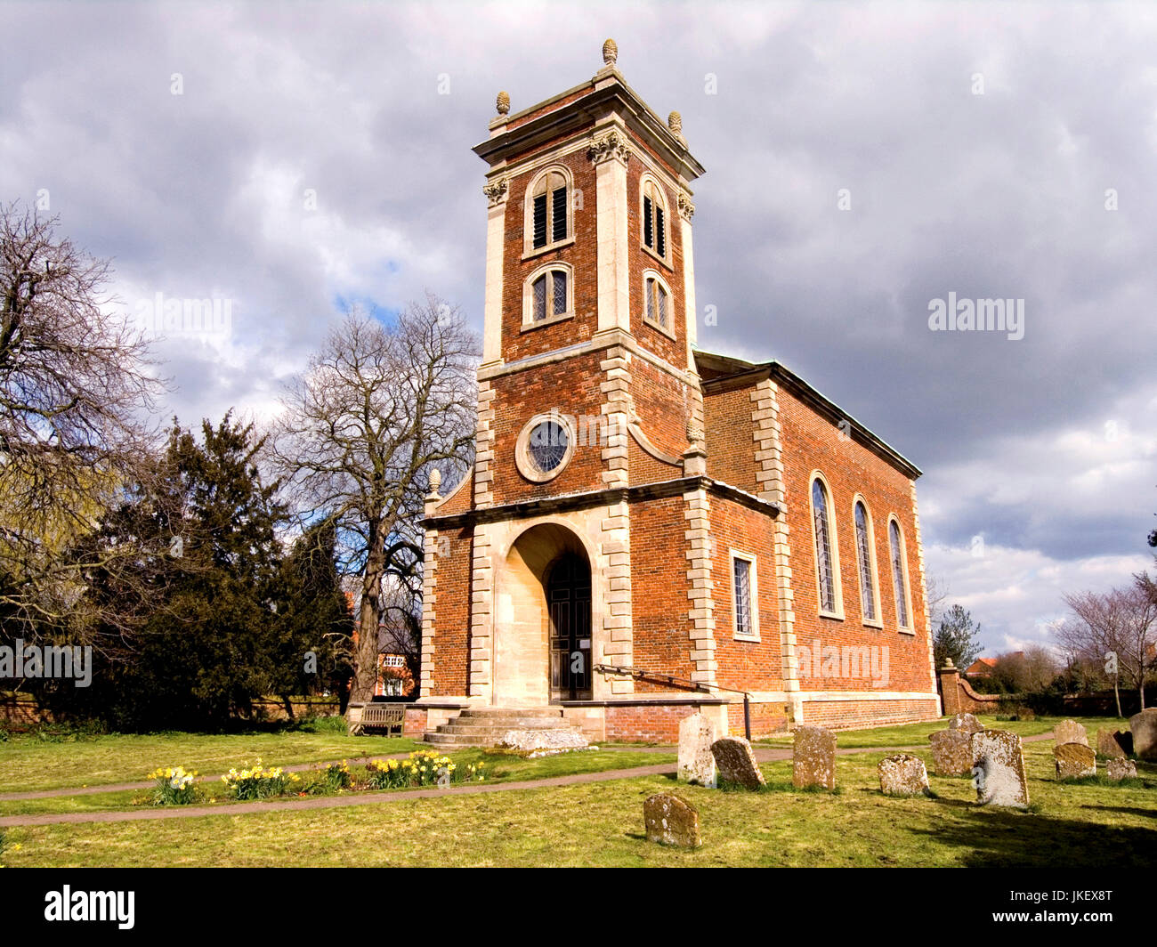 Willen Church Milton Keynes - Stock Image