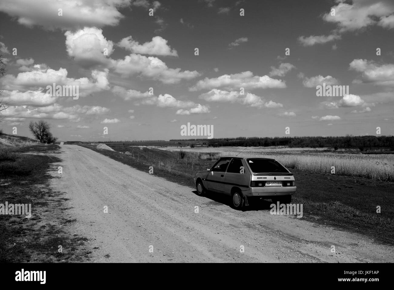 Off-road travelling. - Stock Image