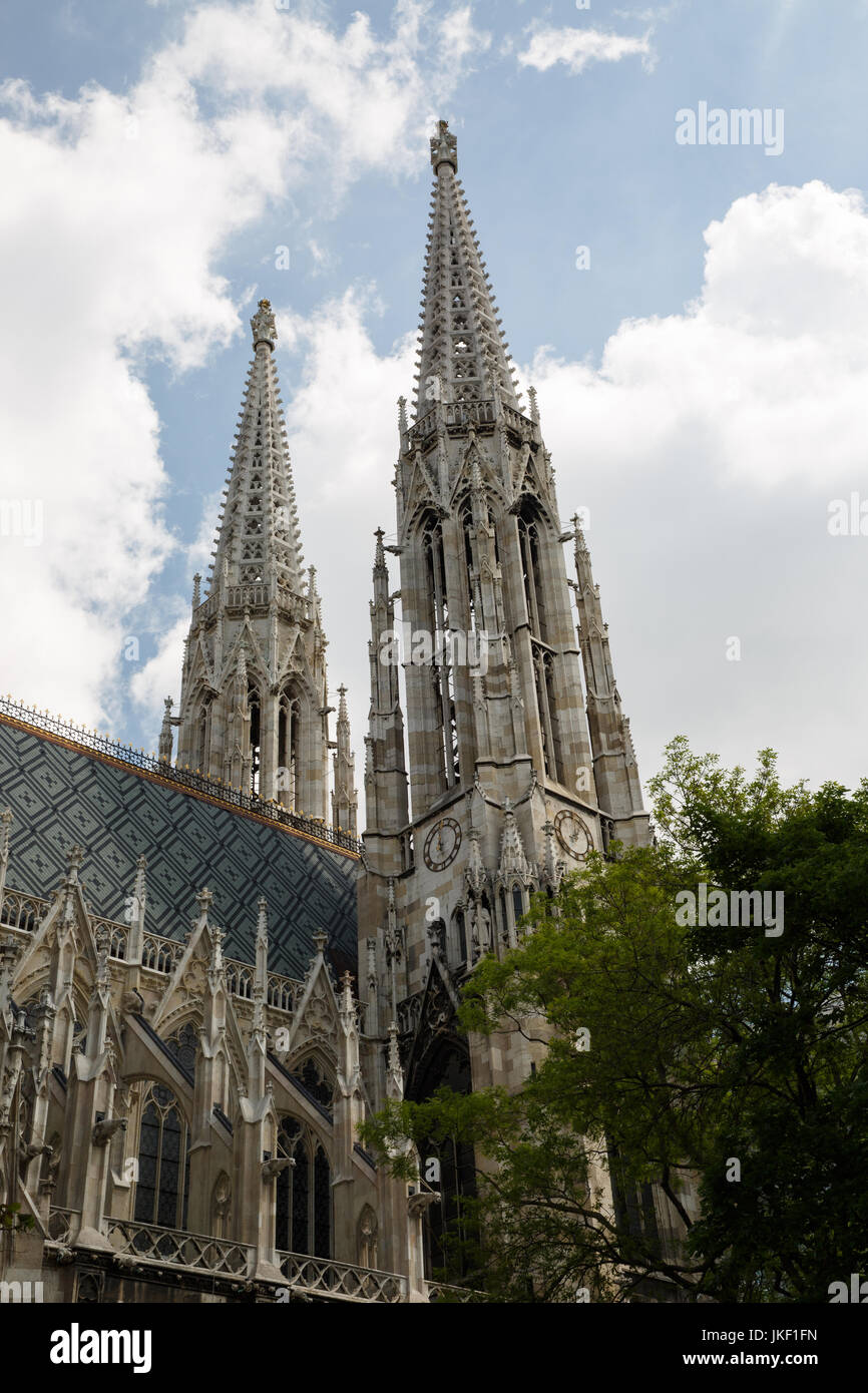 The Ring Vienna S Casual Luxury Hotel Vienna: Votive Church Vienna Austria Stock Photos & Votive Church