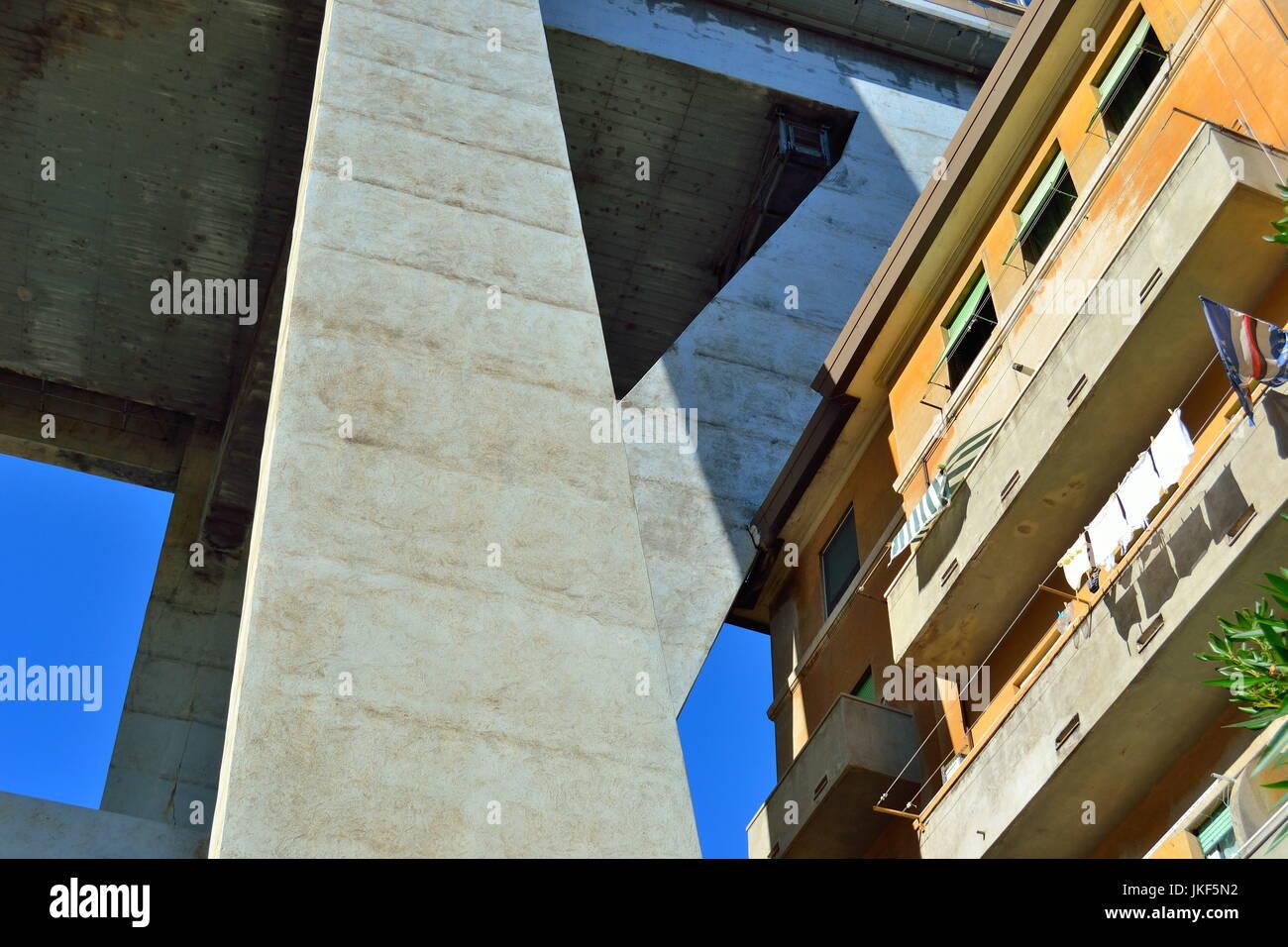 Morandi Bridge Stock Photos Morandi Bridge Stock Images Alamy
