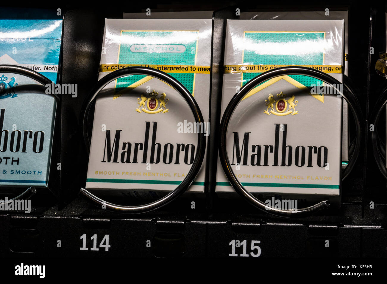 Buying cigarette in Houston