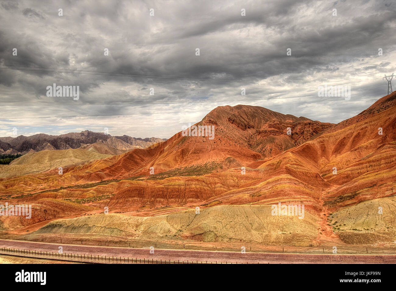 inner mongolia, Gobi desert Stock Photo