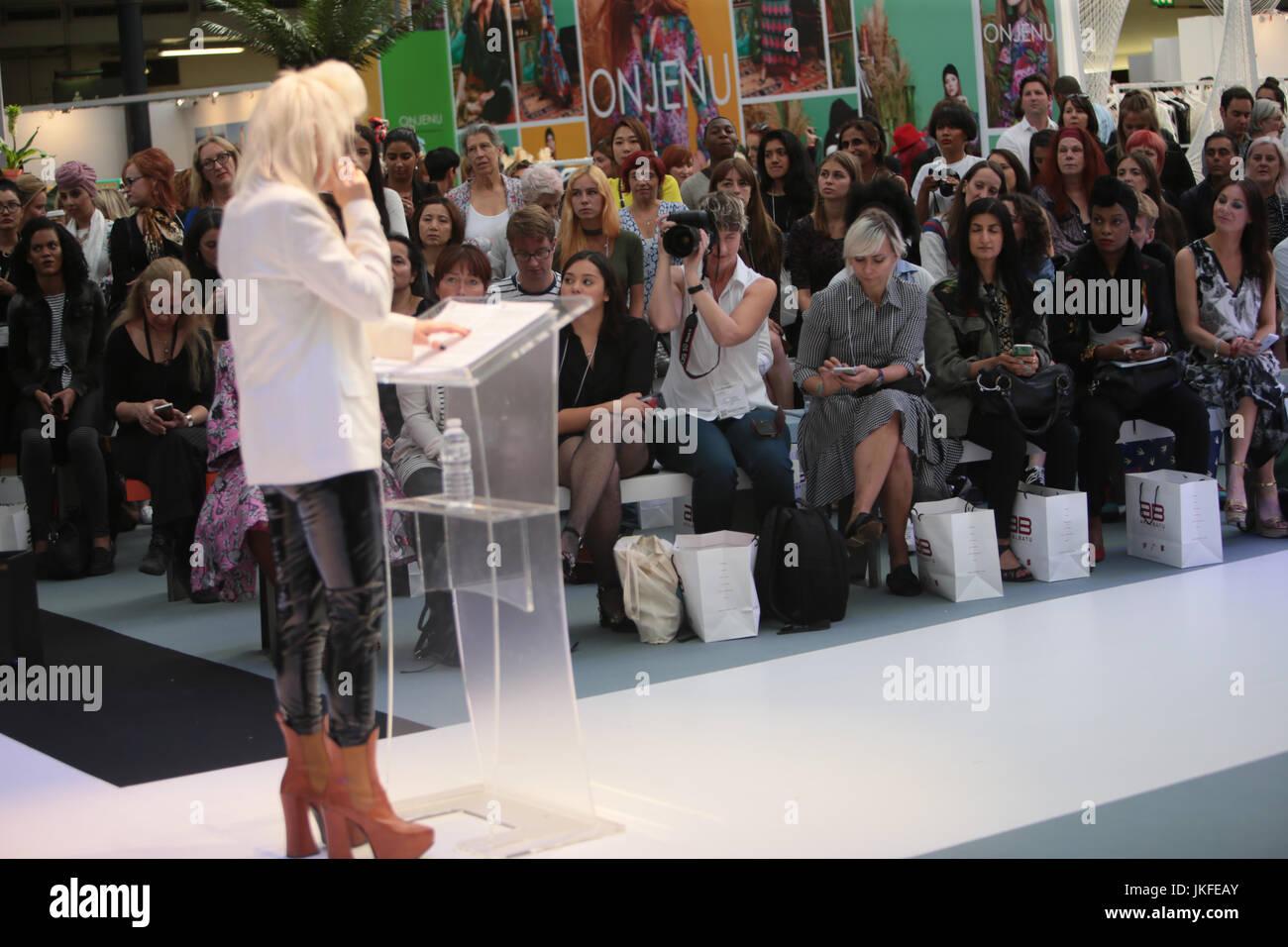 London Uk 23 July 2017 Dr Pam Hogg Legendary Fashion Designer Born In Stock Photo Alamy