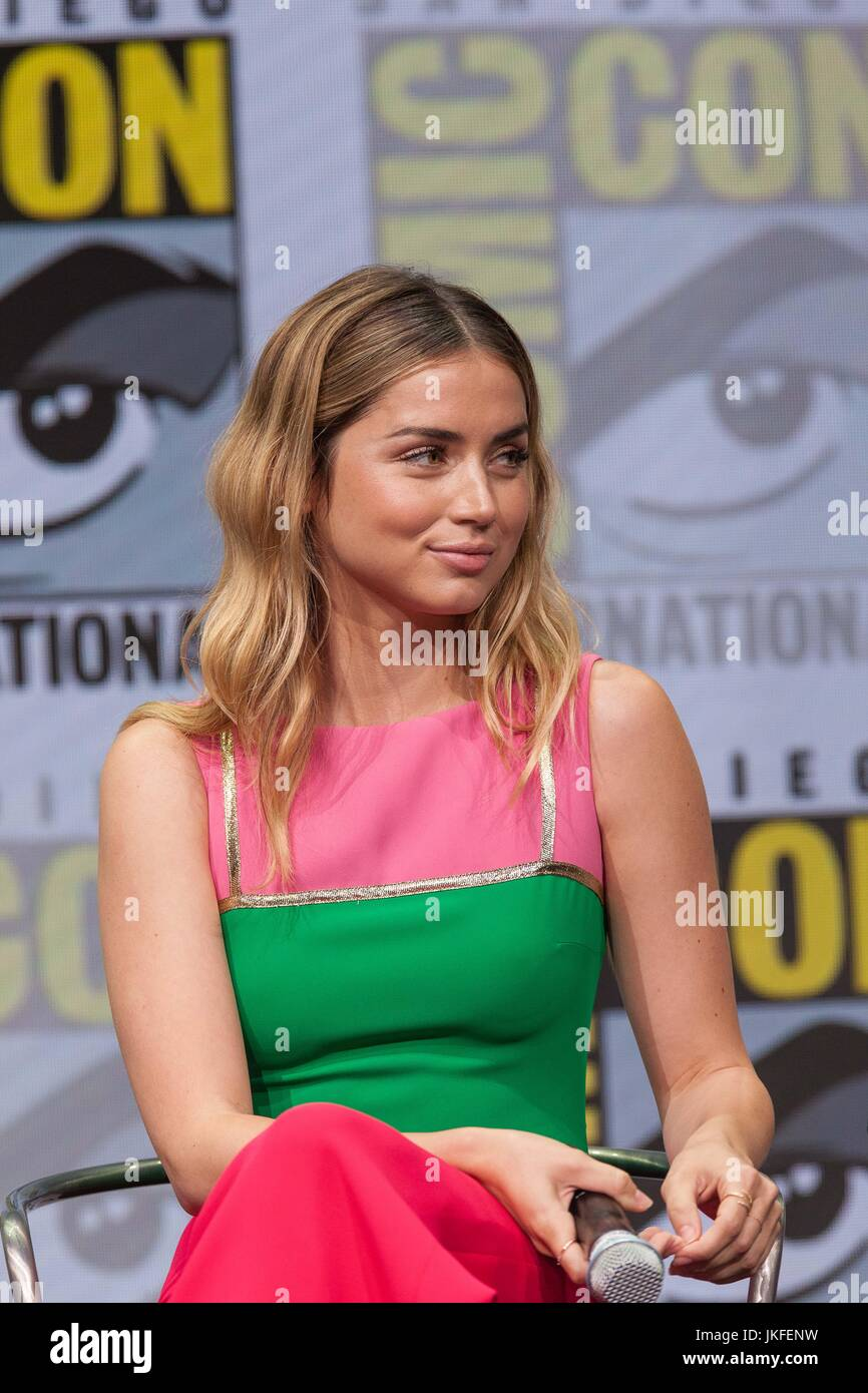 July 22, 2017 - San Diego, US - Day three in Hall H. .Blade Runner 2049, Alcon Entertainment's sequel to the - Stock Image