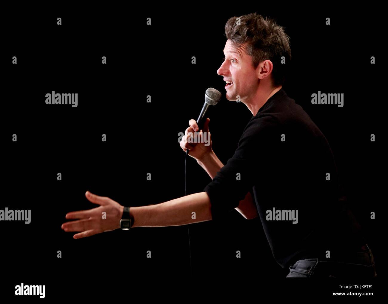 Stuart Goldsmith, Comedian, Joker Comedy Club, Southend, Essex © Clarissa Debenham / Alamy - Stock Image