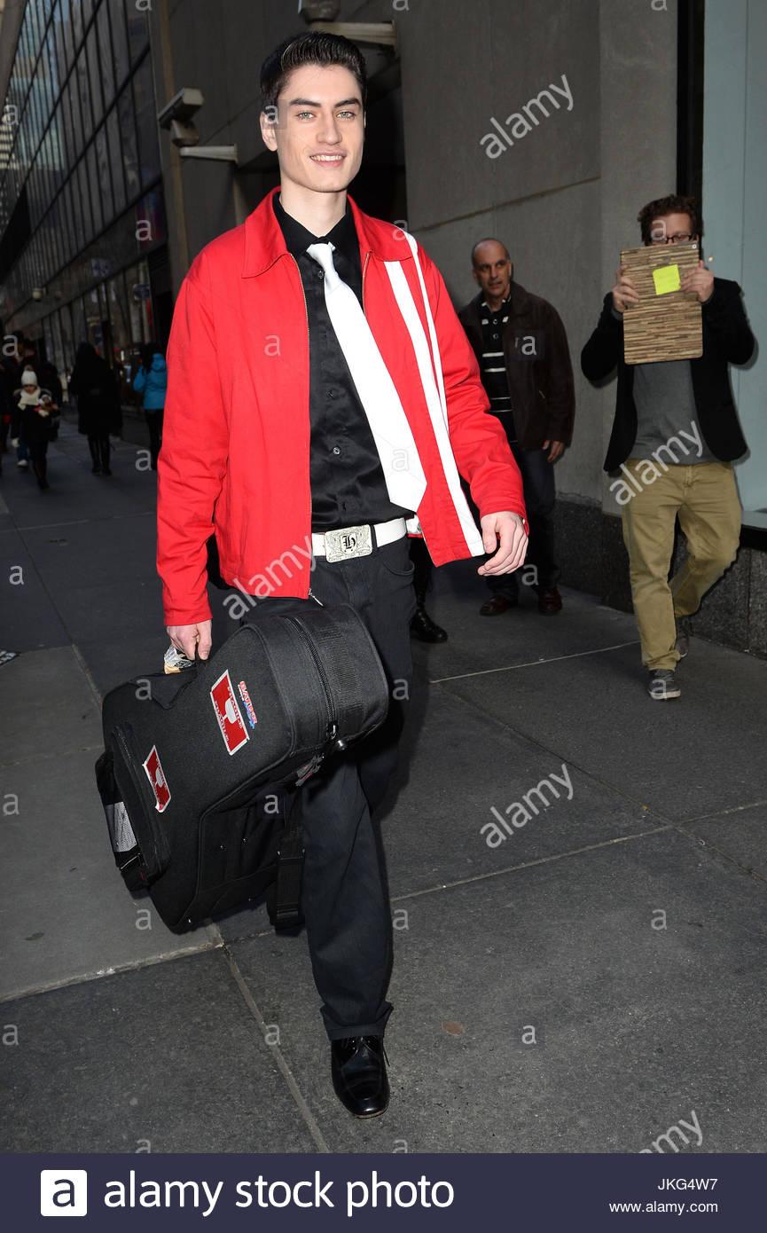 David Thibault. David Thibault departs the Today Show in Rockefeller ...