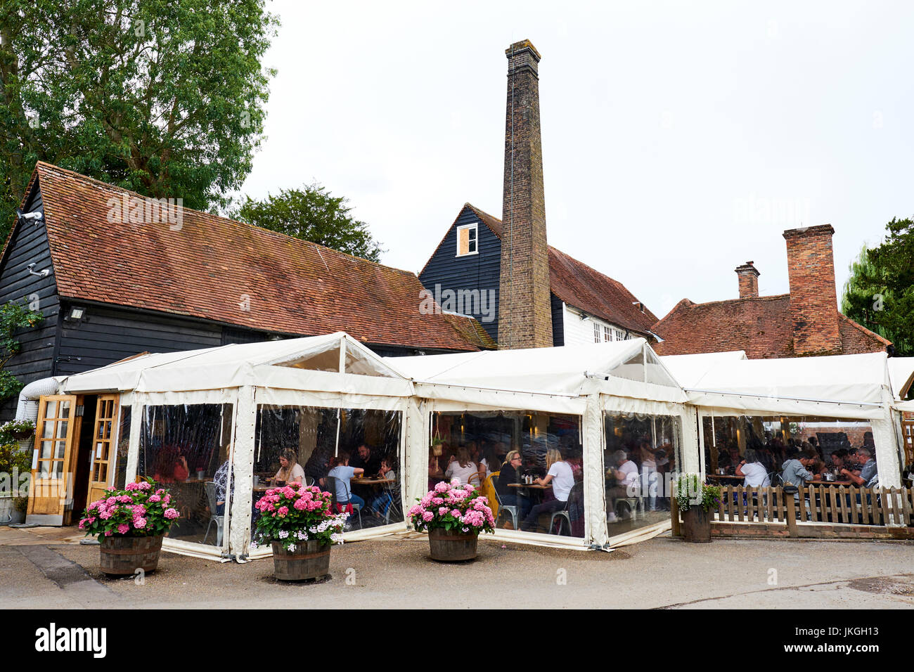 The Waffle House A Former 16th Century Watermill St Michaels Street Stock Photo Alamy