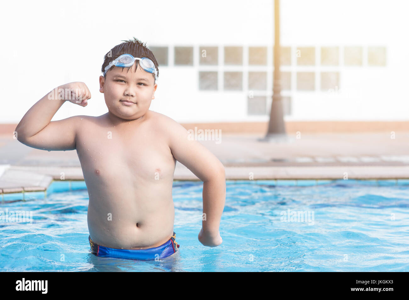 Reunión romano Conquista  Fat Kid Sport Pool High Resolution Stock Photography and Images - Alamy
