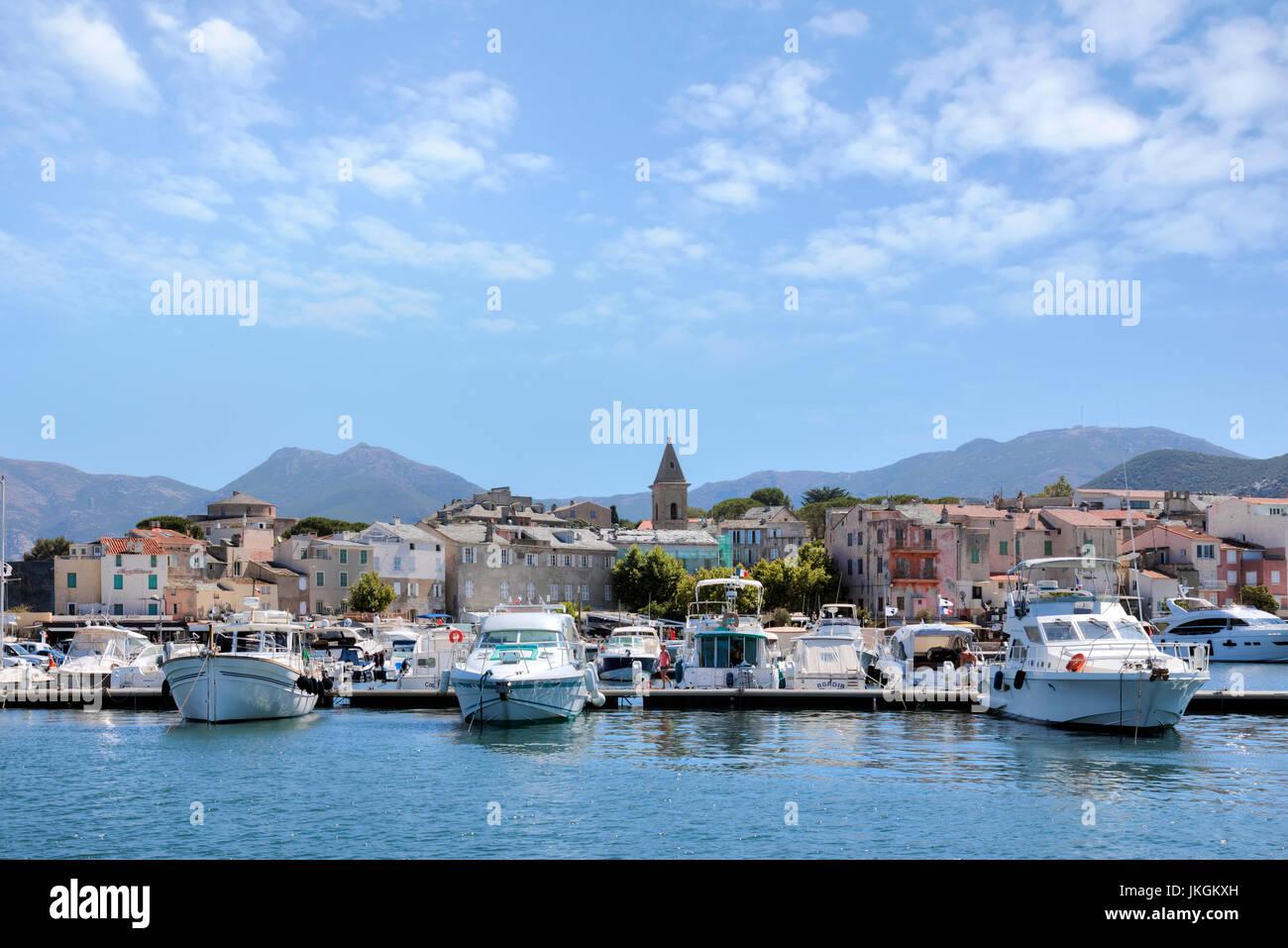 Saint-Florent, Haute-Corse, Corsica, France - Stock Image