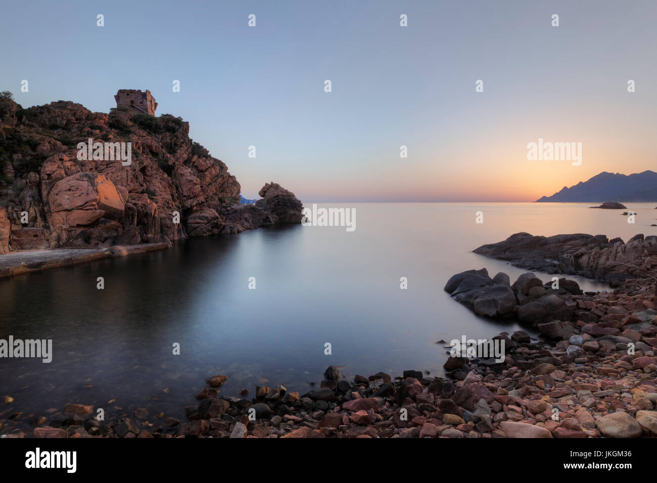 Porto, Ota, Corsica, France - Stock Image