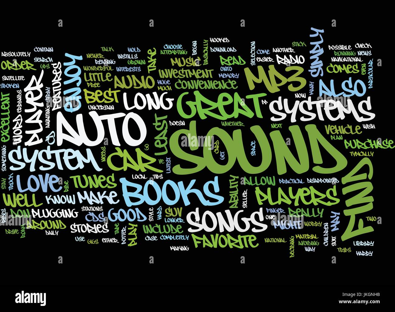 auto sound systems are an investment in your car make it great textauto sound systems are an investment in your car make it great text background word cloud concept