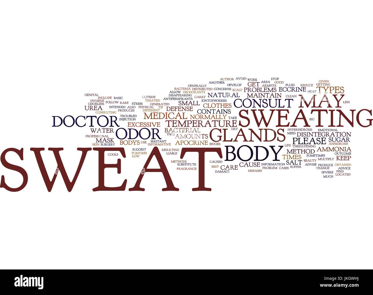BEAUTY CONSCIOUSNESS AND STRETCH MARKS Text Background Word Cloud Concept - Stock Vector