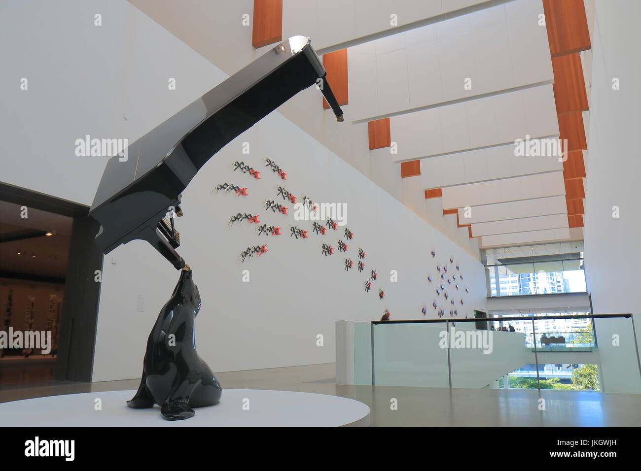 GOMA museum in Brisbane Australia. GOMA Queensland Government of Modern Art is the largest gallery of modern and - Stock Image