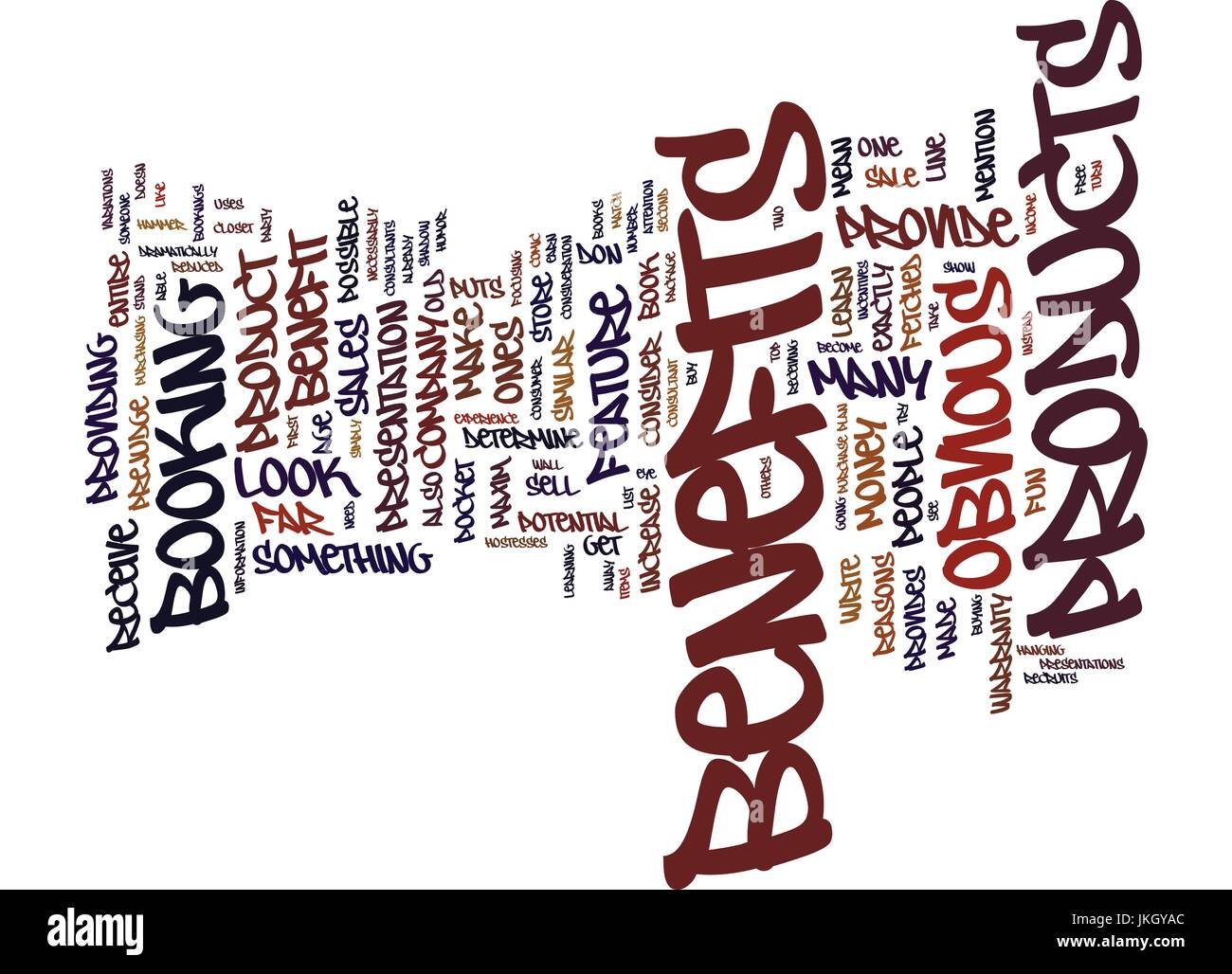 BENEFITS OF A BABY MASSAGE Text Background Word Cloud Concept - Stock Vector