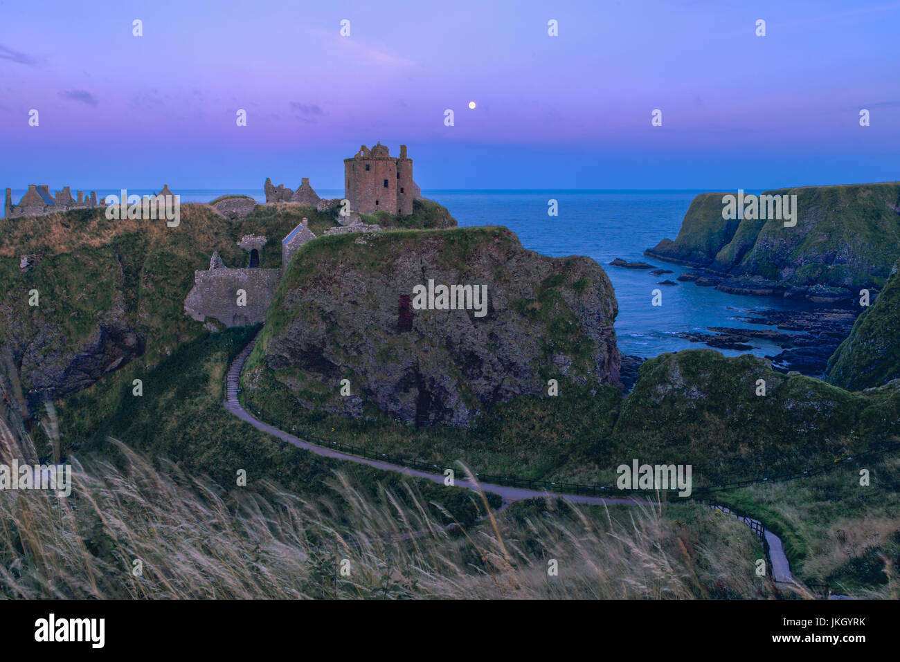 Dunottar Castle, Scotland, United Kingdom, Europe - Stock Image