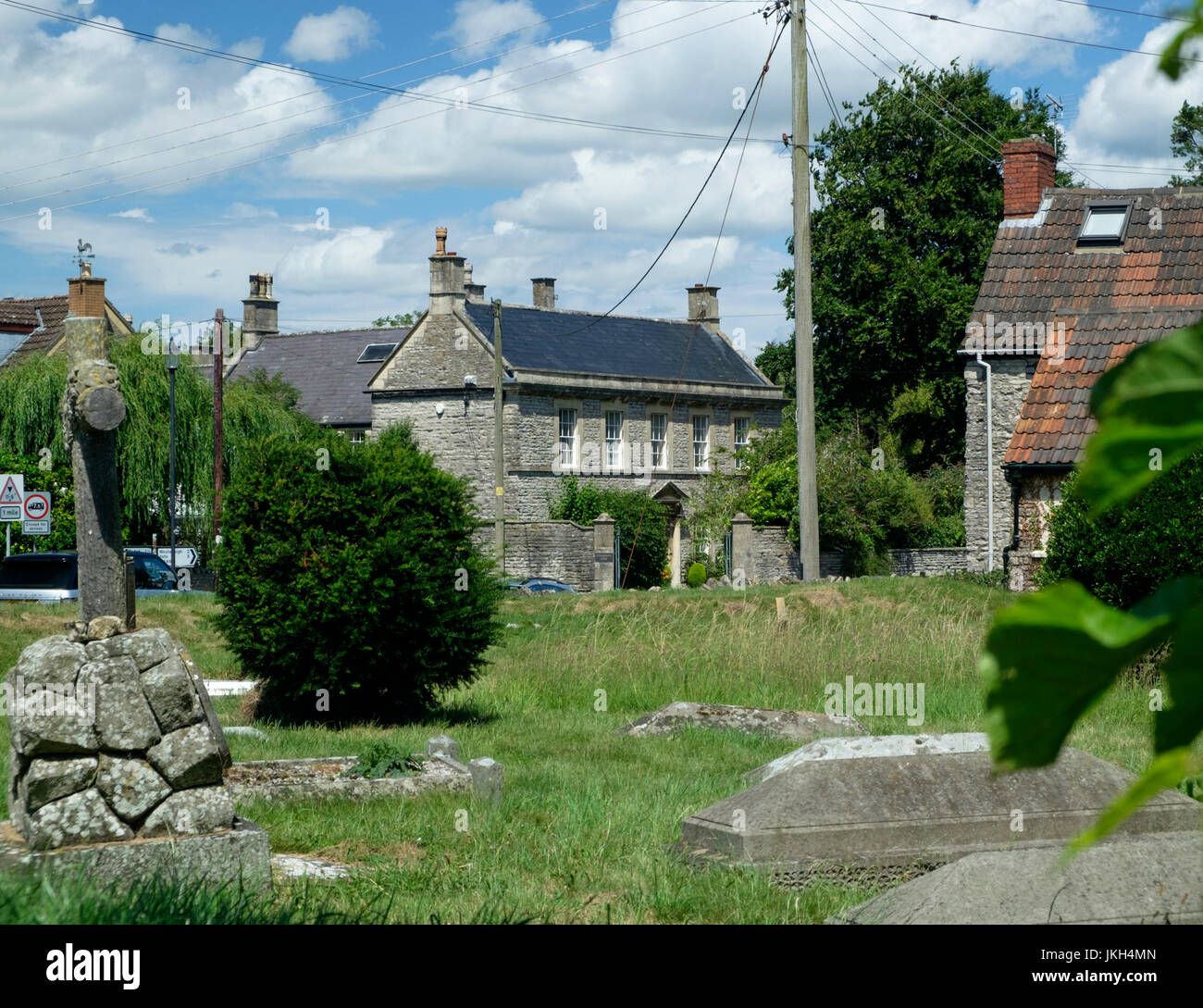 eaa68694 Pucklechurch a smal village in south Gloucestershire England UK - Stock  Image