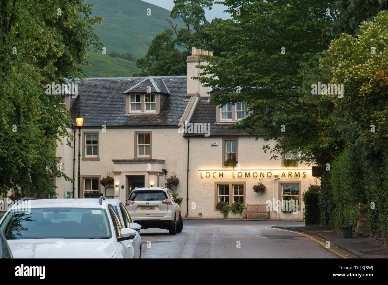 Loch Lomond Arms Hotel, Country Pub and Hotel, Luss