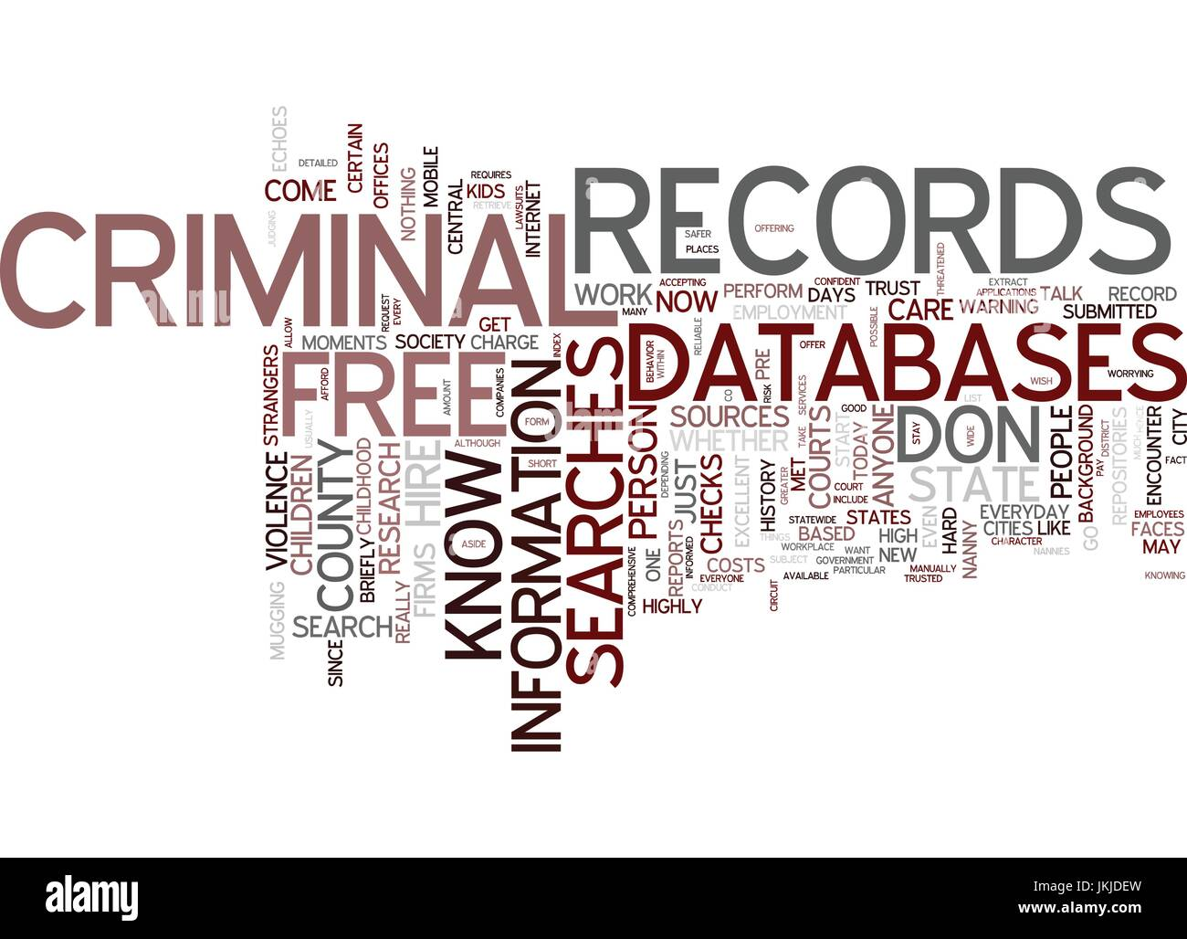 Criminal Records Search Free >> Free Criminal Records Searches For Every Investigator Text