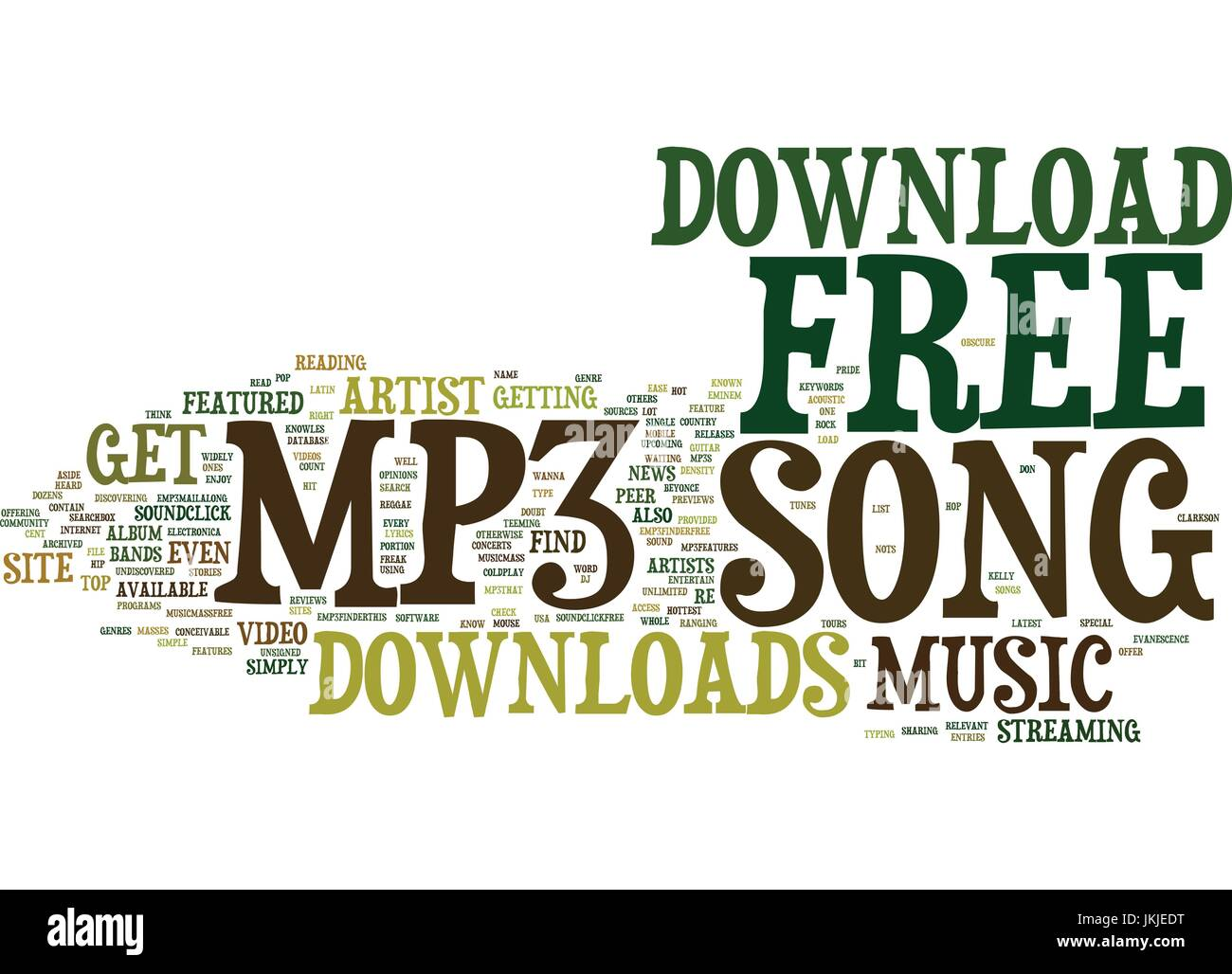 Free Mp Song Download Text Background Word Cloud Concept